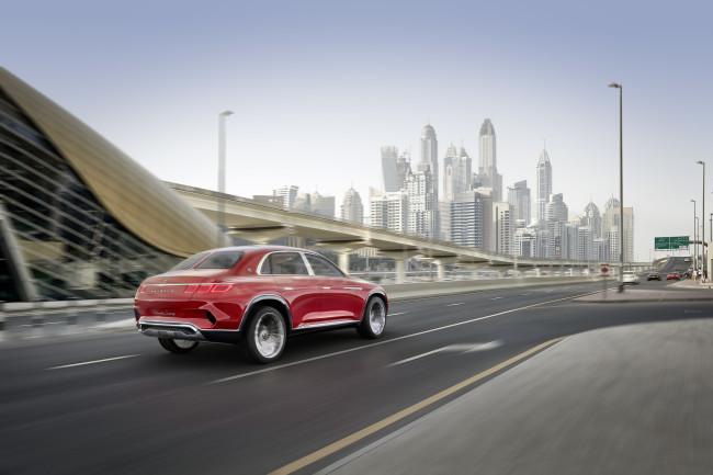 Mercedes готовит самый роскошный внедорожник